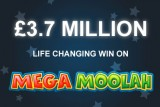 3.7 Million Life Changing Win On Mega Moolah Mobile Slot at JackpotCity Mobile Casino