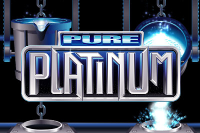 Pure Platinum Mobile Slot Logo
