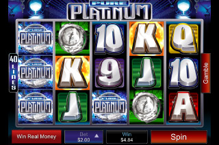 Pure Platinum Mobile Slot Screenshot