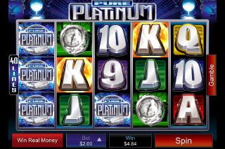 Pure Platinum Mobile Slot Screenshot