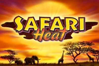 Safari Heat Mobile Slot Logo