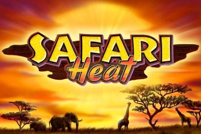 Safari Heat Mobile Slot Logo