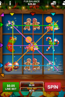 Santa's Gift Mobile Slot Win