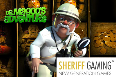 3 New mobile slots to be launched in October including Dr Magoo's Adventure
