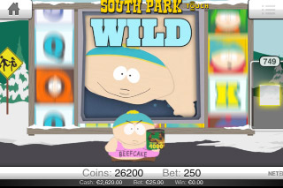 South Park Touch Mobile Slot Beefcake Wild