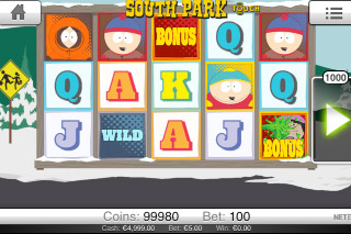 South Park Touch Mobile Slot Screenshot