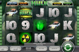 The Incredible Hulk Mobile Slot Screenshot