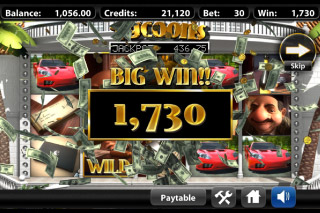 Tycoons Mobile Slot Big Win