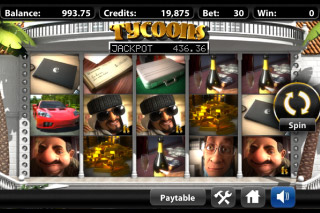 Tycoons Mobile Slot Screenshot