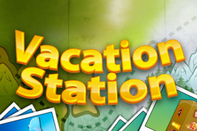 Vacation Station Mobile Slot Logo