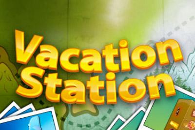Vacation Station Mobile Slot Logo