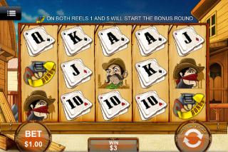 Wanted Mobile Slot Screenshot
