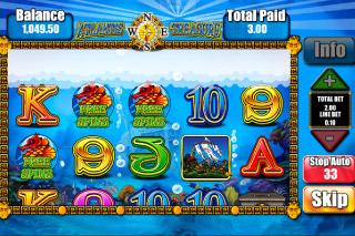 Atlantis Treasure Mobile Slot Compass Feature