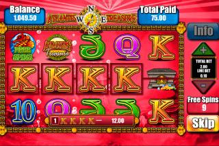 Atlantis Treasure Mobile Slot Free Spins