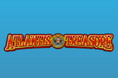 Atlantis Treasure Mobile Slot Logo