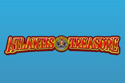 Atlantis Treasure Mobile Slot Logo