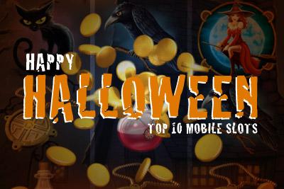 Happy Halloween! The Top Ten Halloween Mobile Slots of 2013