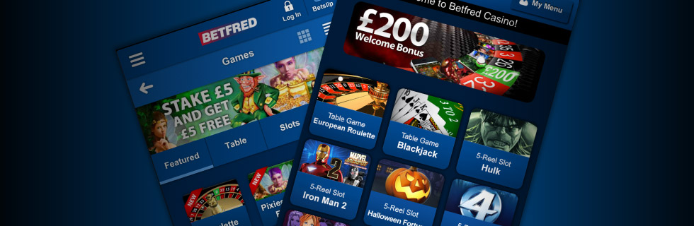 Betfred Slots
