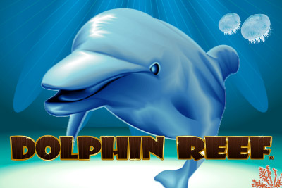 Dolphin Reef Mobile Slot Logo
