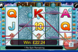 Dolphin Reef Mobile Slot Win