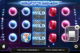 Extreme Mobile Slot Expanding Wilds