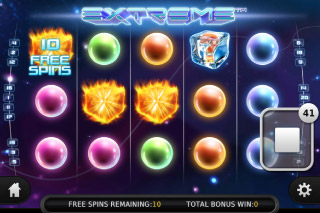 Extreme Mobile Slot Free Spins