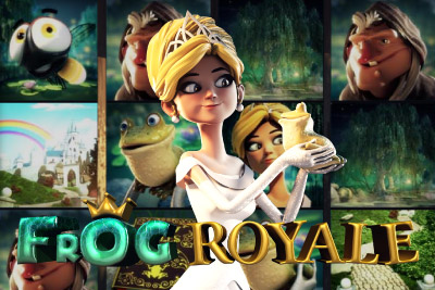 Frog Royale Mobile Slot Logo