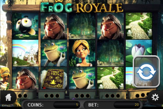 Frog Royale Mobile Slot Screenshot