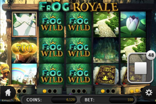 Frog Royale Stacked Wilds