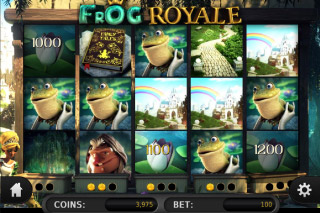 Frog Royale Mobile Slot Win