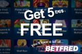 Get 5 £/€/$ Free and Play IGT Mobile Slots at BetFred Casino