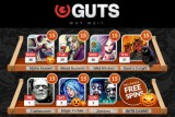 Get up to 105 Free Spins at Guts Casino this Halloween