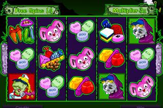 Halloweenies Mobile Slot Free Spins