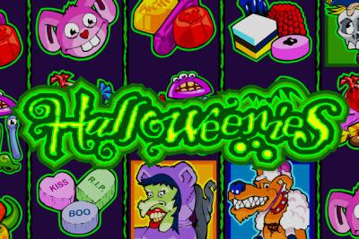 Halloweenies Mobile Slot Logo