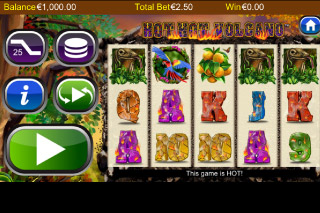 Hot Hot Volcano Mobile Slot Screenshot