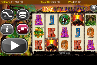 Hot Hot Volcano Mobile Slot Win