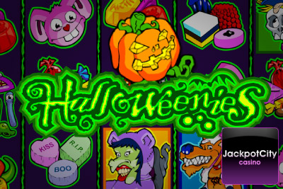 Play Halloweenies Mobile Slot at Jackpot City Mobile Casino for a Little Extra
