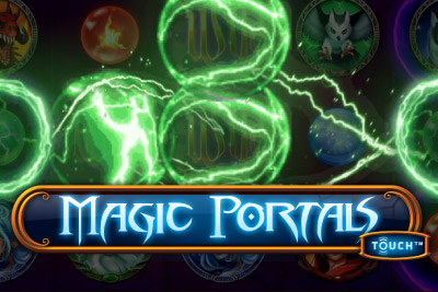 Magic Portals Touch Mobile Slot Logo
