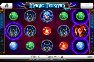 Magic Portals Touch Mobile Slot Screenshot