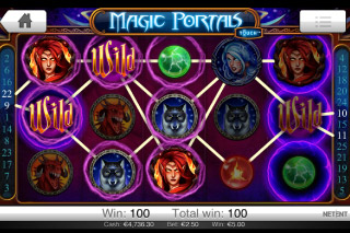 Magic Portals Touch Mobile Slot Wilds