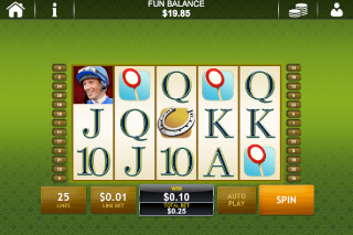 Frankie Dettori's Magic Seven Mobile Slot Screenshot