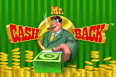 Mr Cashback Mobile Slot Logo