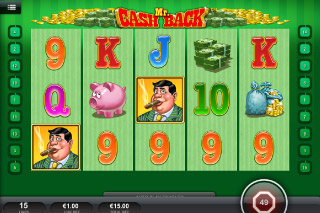 Mr Cashback Mobile Slot Screenshot