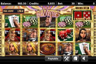 Mr Vegas Mobile Slot Free Spins