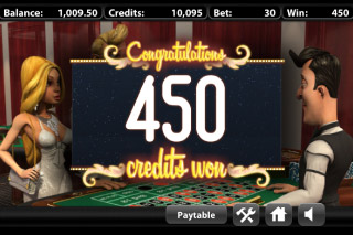 Mr Vegas Roulette Bonus Win