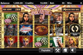 Mr Vegas Mobile Slot Screenshot