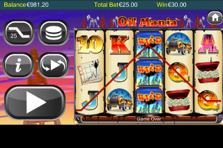 Oil Mania Mobile Slot Free Spins