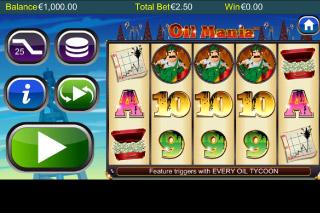 Oil Mania Mobile Slot Screenshot