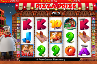 Pizza Prize Free Games Screenshot