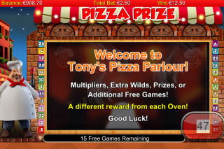 Pizza Prize Free Games